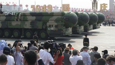 Грандиозен военен парад отбелязва 70 г. комунистически режим в Китай (снимки и видео)