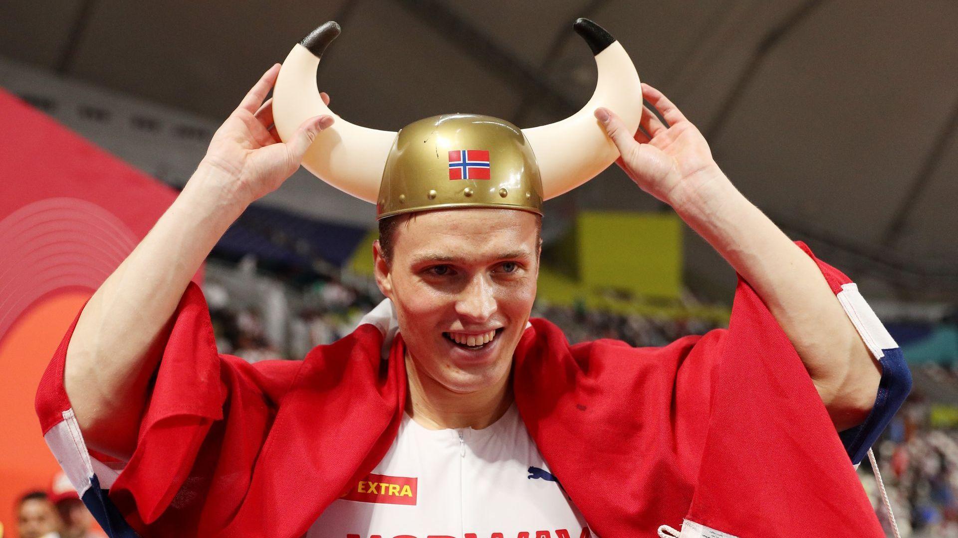 """Норвежец """"едва не умря"""", но защити титлата си в Доха"""