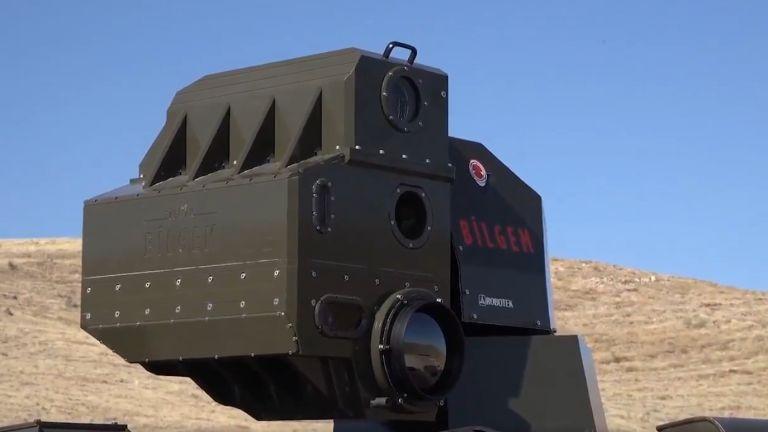 Лазерният модул на турския ARMOL