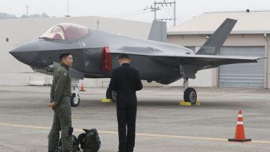 Южна Корея показа за пръв път изтребителите си F-35