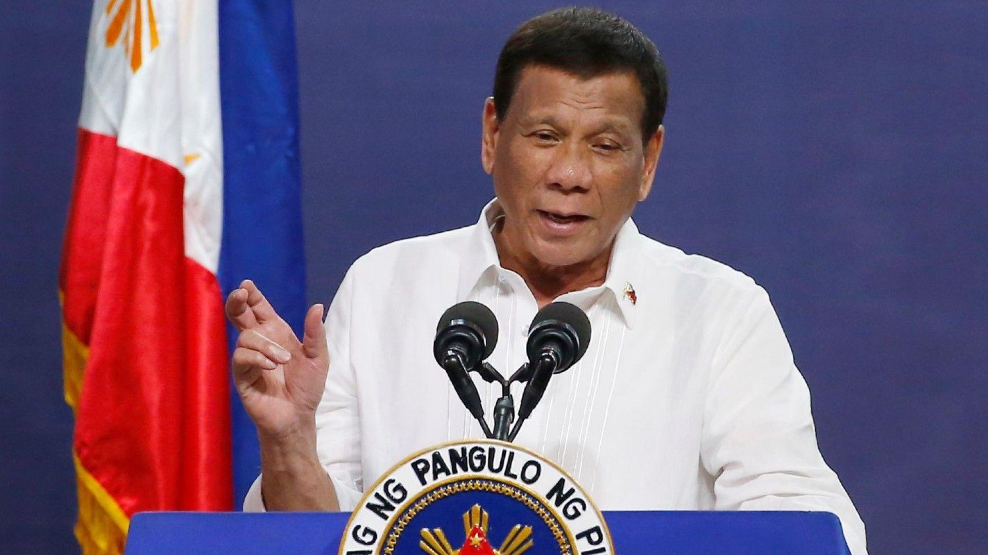 Филипинският президент Дутерте е на петдневна визита в Русия