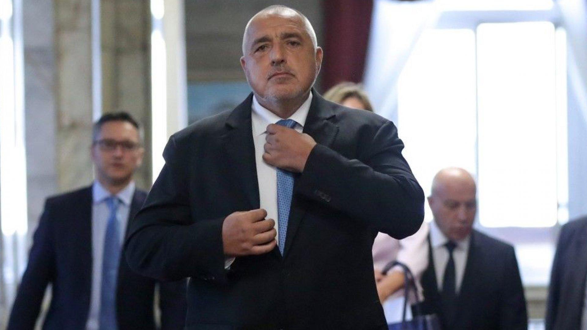 Борисов: ГЕРБ дори не е обмисляла да забранява неправителствени организации