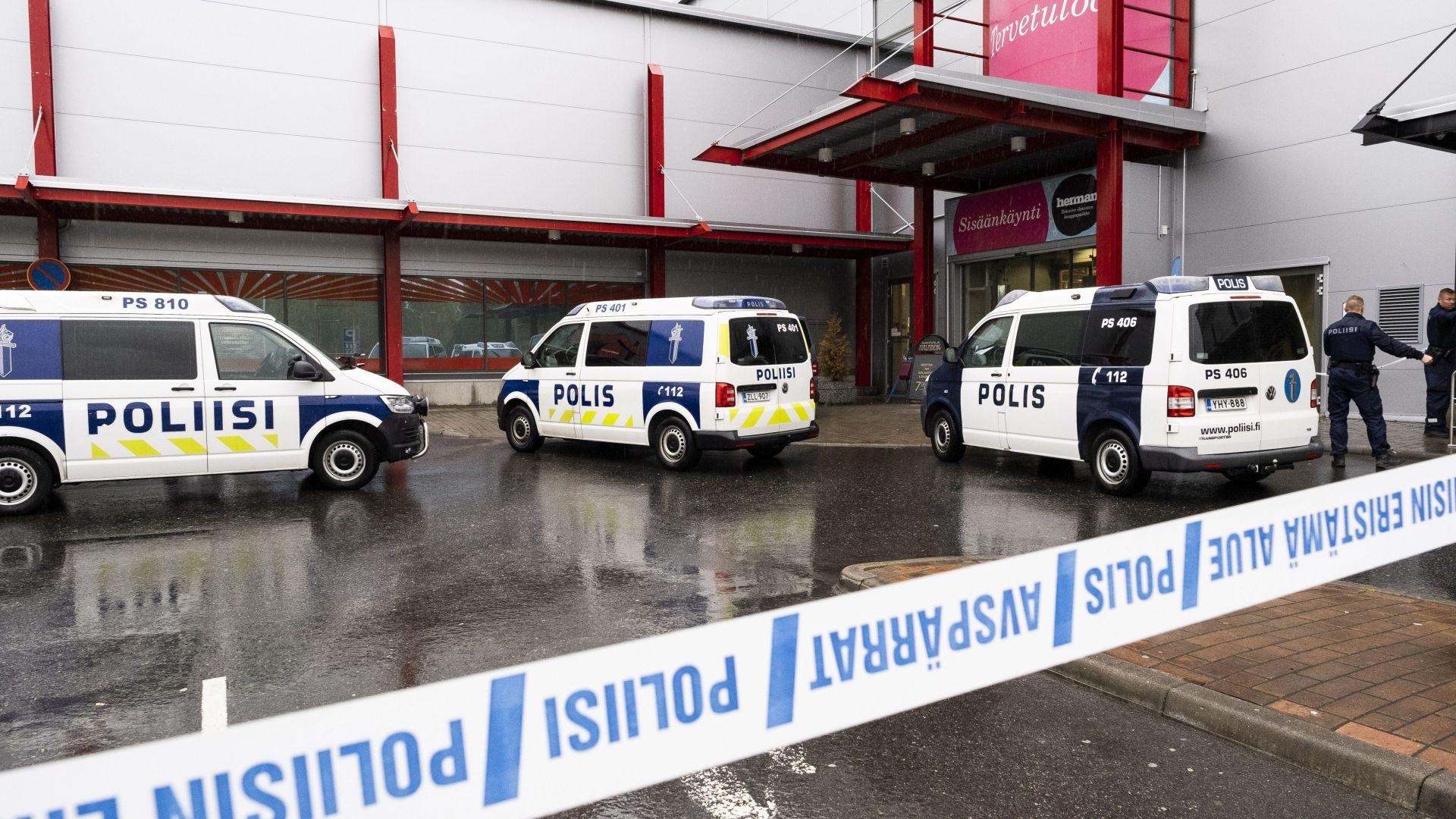 Нападателят в Куопио е финландец, който учел в същия колеж