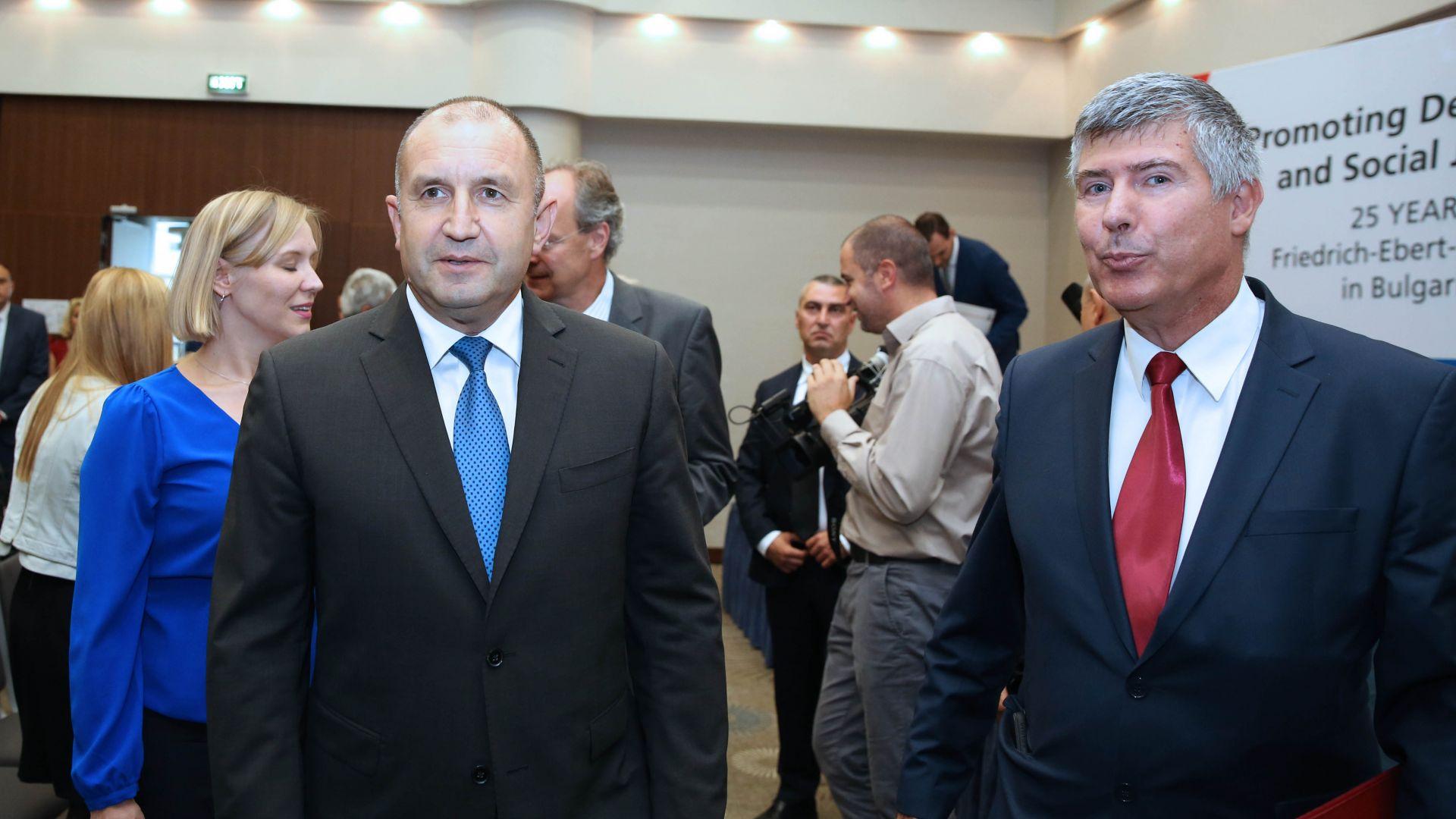 Радев: Опустошителната демографска криза е най-голяма заплаха за България