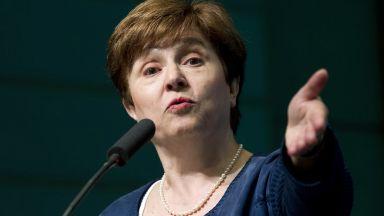 Първи работен ден на Кристалина Георгиева в МВФ: Запретвам ръкави
