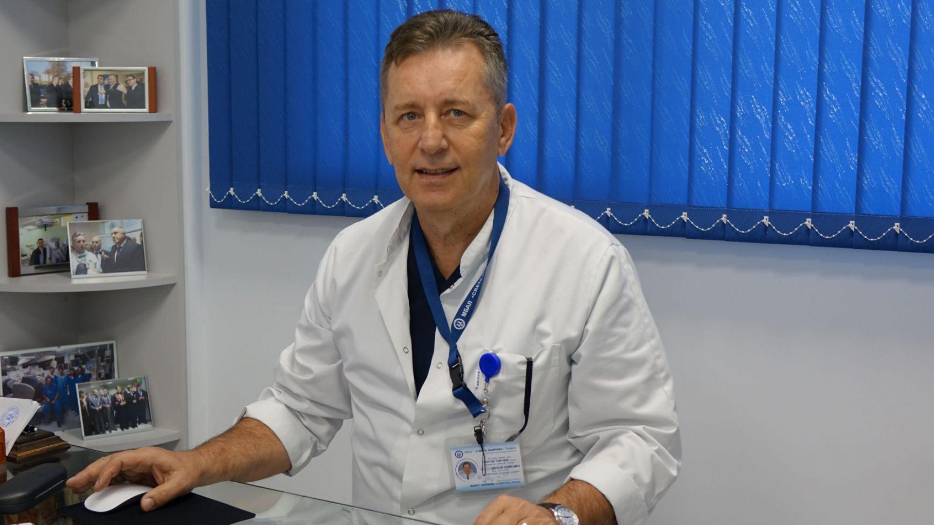 Защо сме в Топ 3 на Европа по роботизирана хирургия? Чл. кор. проф. Григор Горчев пред Dir.bg