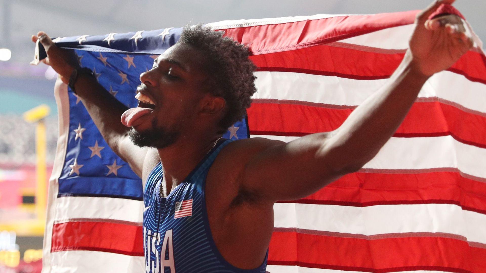 Новата американска сензация говори като Болт, тича като Болт и иска рекордите му