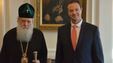 Патриах Неофит се срещна с дипломат №1 на САЩ в София (видео)
