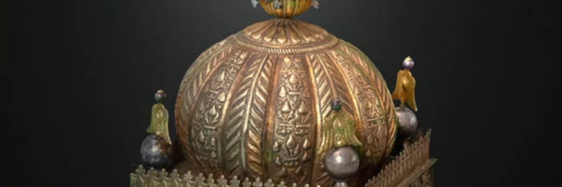 Появи се безценна етиопска корона, укривана 21 години