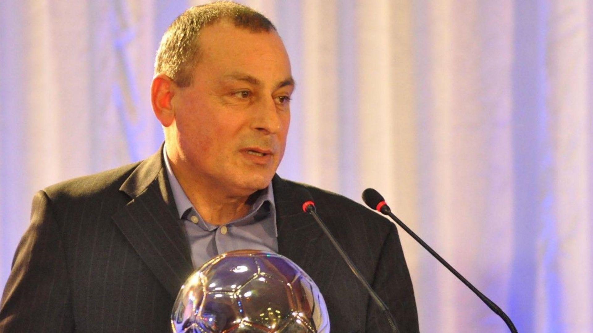 Мишо Мадански: Не е вярно, че треньорите сме предложили правилото за вратарите