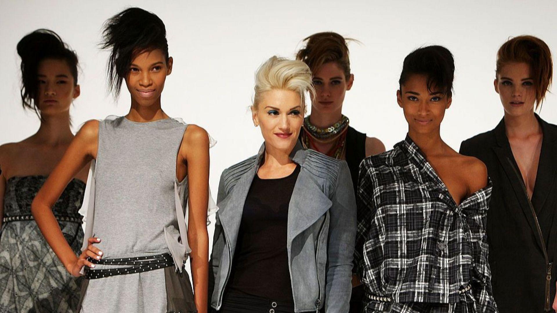 Гуен представя колекция на модната си линия L.A.M.B.
