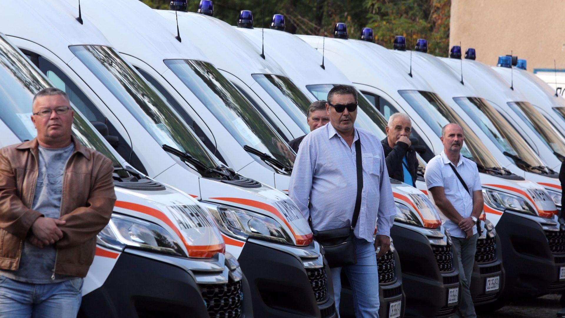 За 2 години Спешна помощ се сдоби със 162 нови линейки