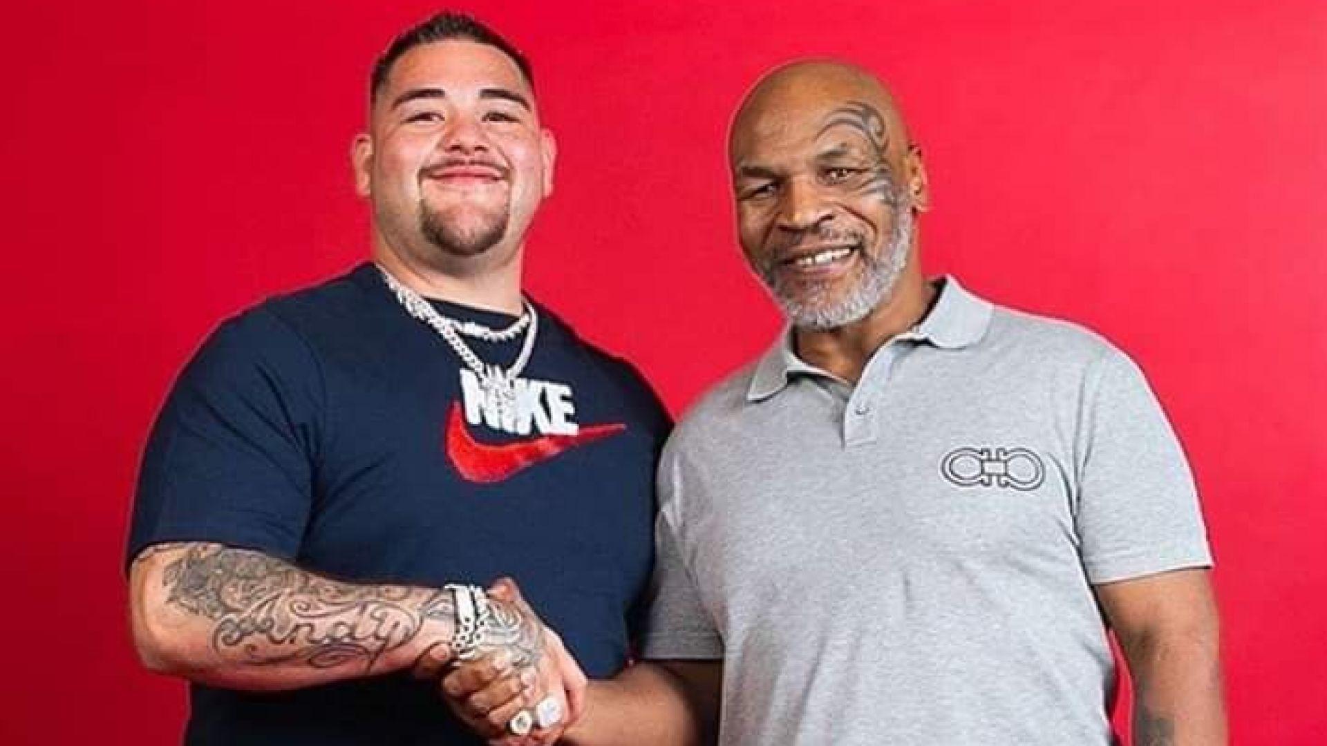 Железният Майк Тайсън предупреди шампиона Руис преди мача на годината