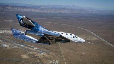 Италианските военновъздушни сили отиват в Космоса с Virgin Galactic