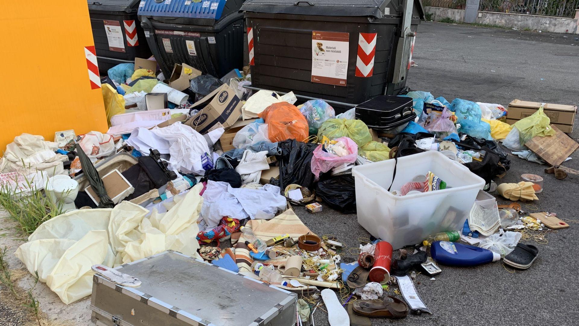 Жителите на Рим са призовани да не изхвърлят боклук днес