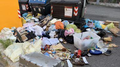 Рим е изправен пред нова криза с боклука. Има риск от колапс до 10 дни