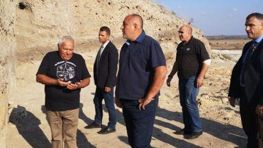 """Борисов посети """"първия праисторически град на нашия континент"""""""