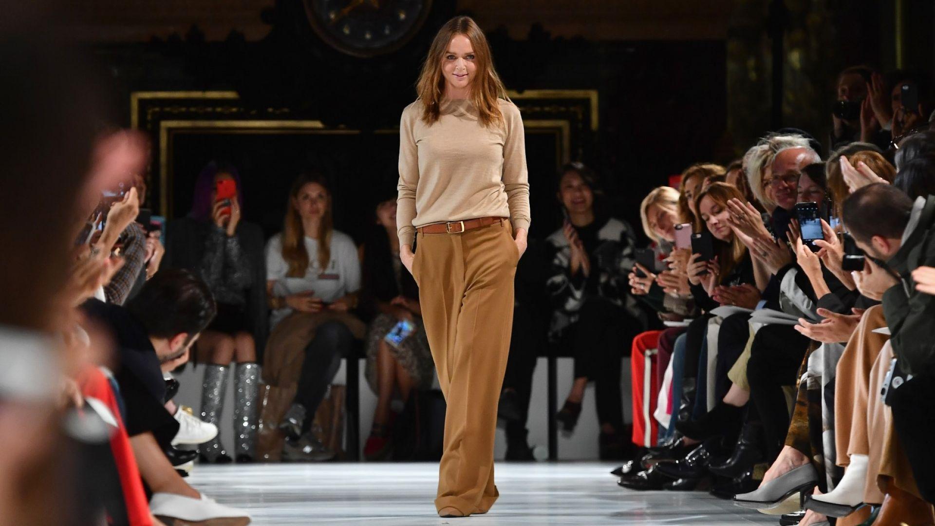 Стела Макартни: Стилът не може да бъде жертван в името на модата