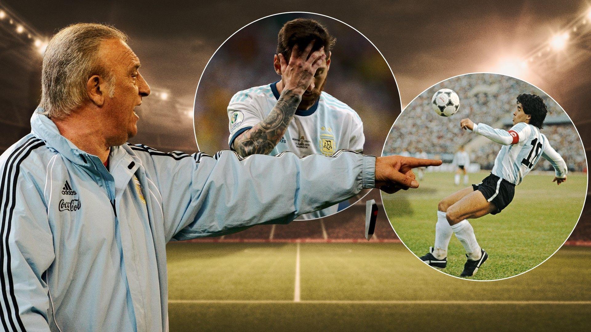 Той изгони папата от стадиона - историята на единствения човек, тренирал Меси и Марадона