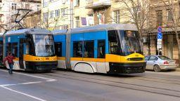 Ремонтират трамвайните релси по линия №6