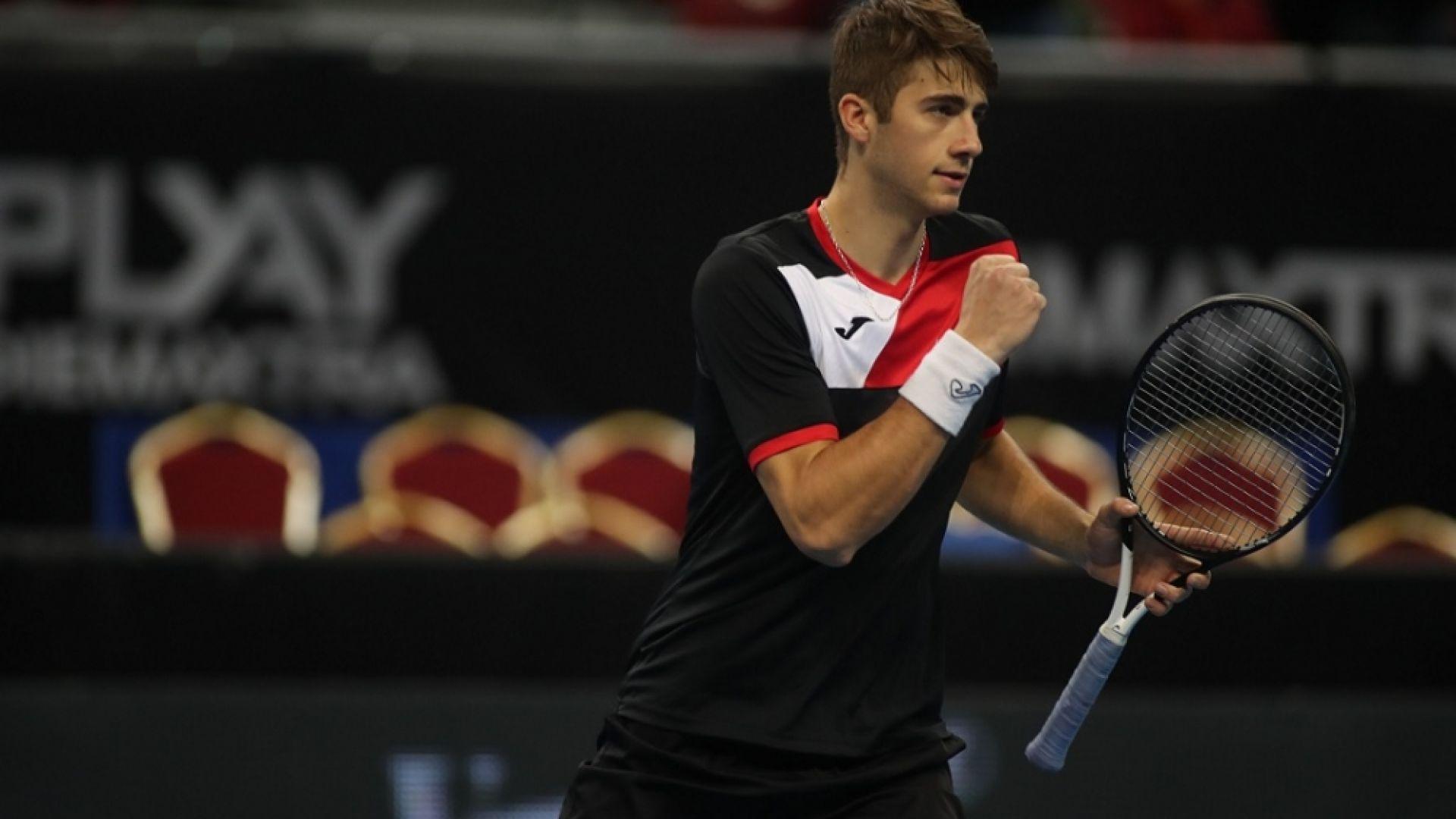 Двамата българи в квалификациите на Sofia Open отпаднаха