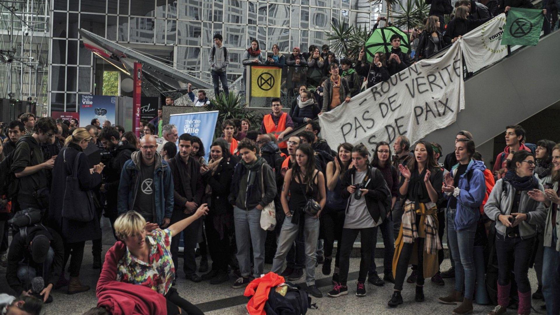 """Започват 2 седмици мирни окупации срещу """"унищожаването на планетата"""""""