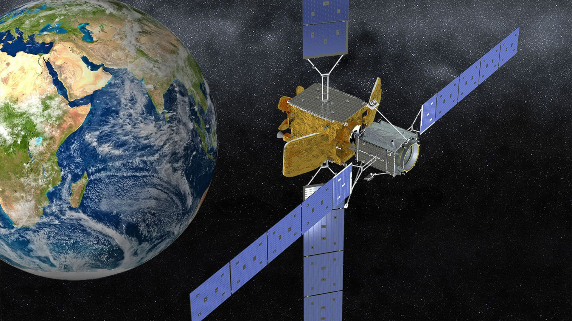 DARPA ще изгражда сателитен военен интернет