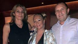 Румен и Деси Радеви се снимаха с фенове на концерт на Георги Христов