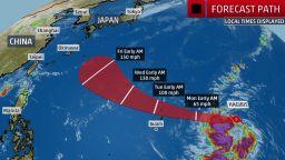 Тайфунът-чудовище Хагибис заплашва Япония
