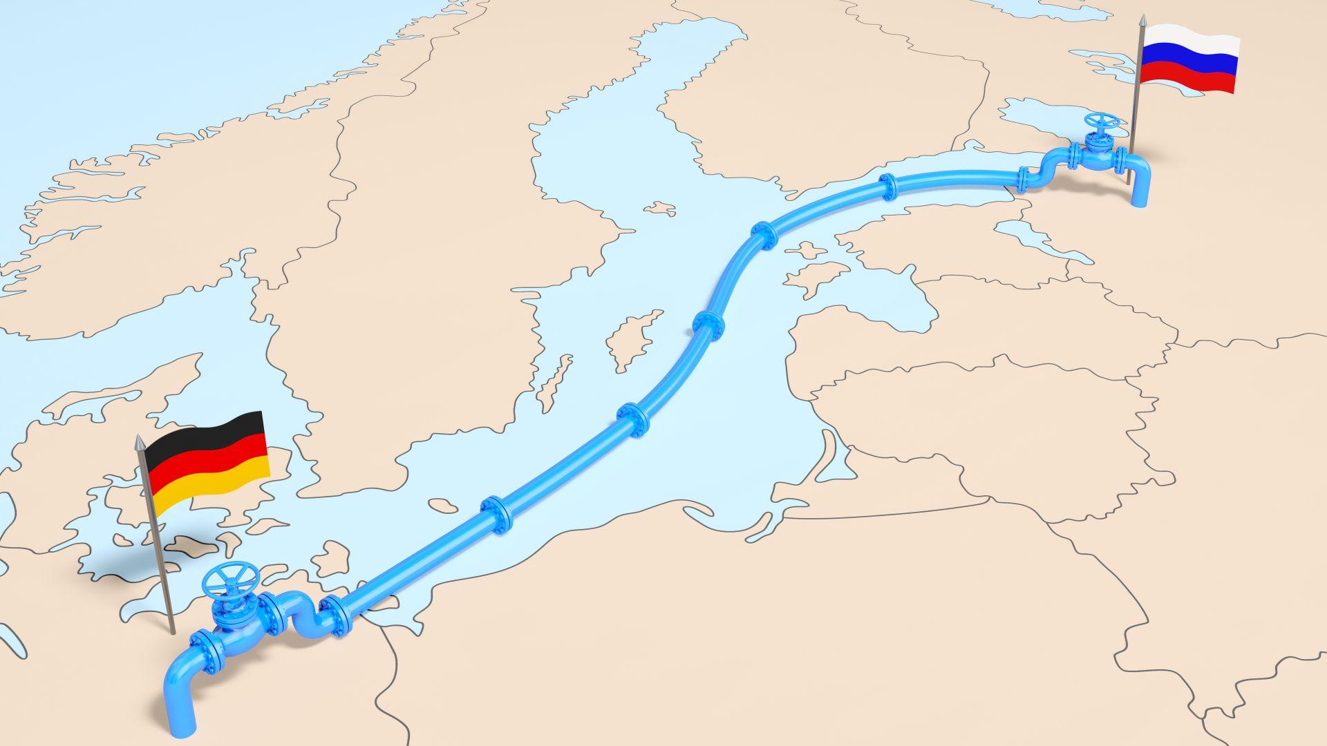 """Путин и Меркел обсъдиха транзита на газ през Украйна и """"Северен поток-2"""""""