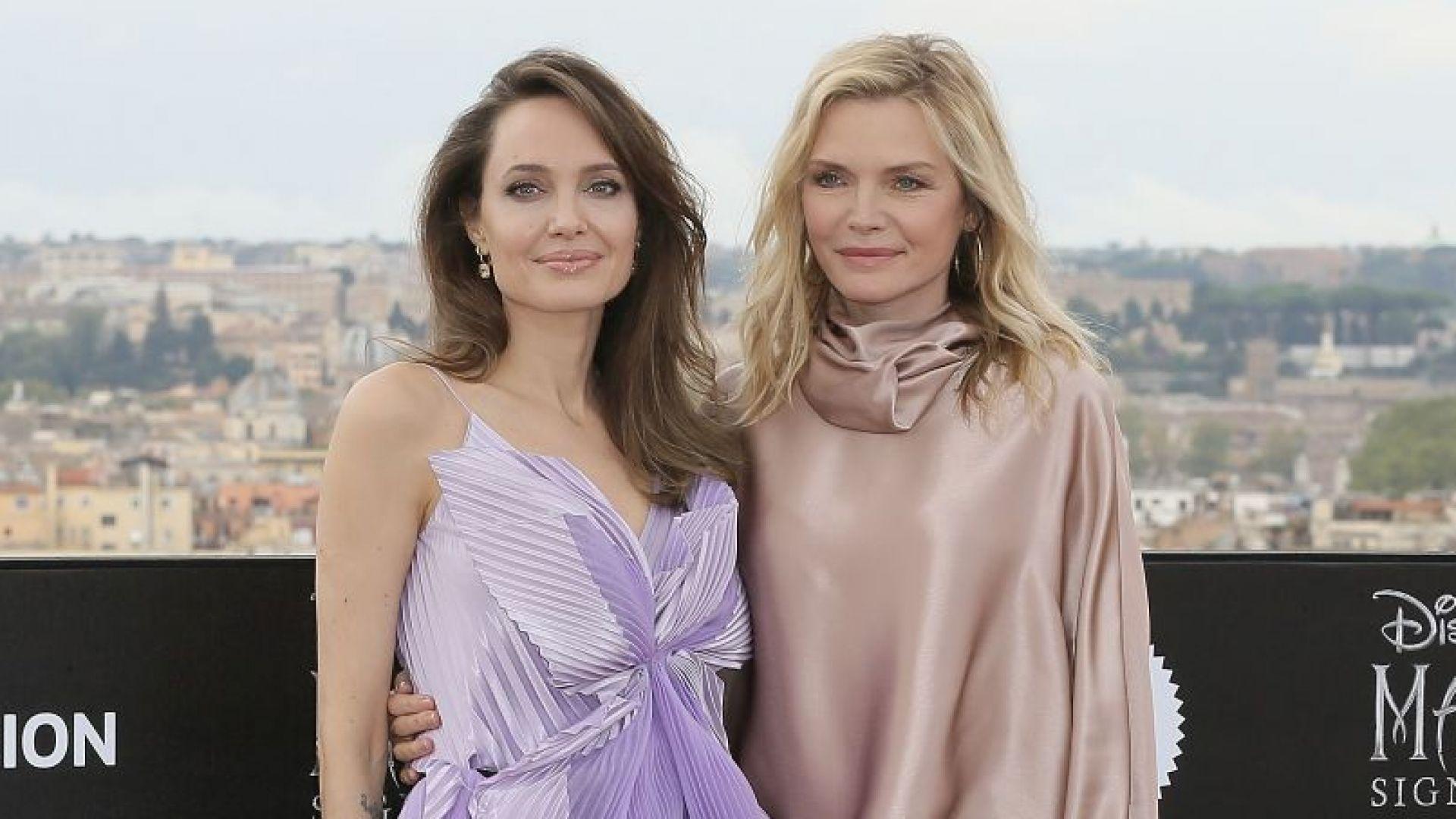 Анджелина Джоли и Мишел Пфайфър ослепителни в Рим