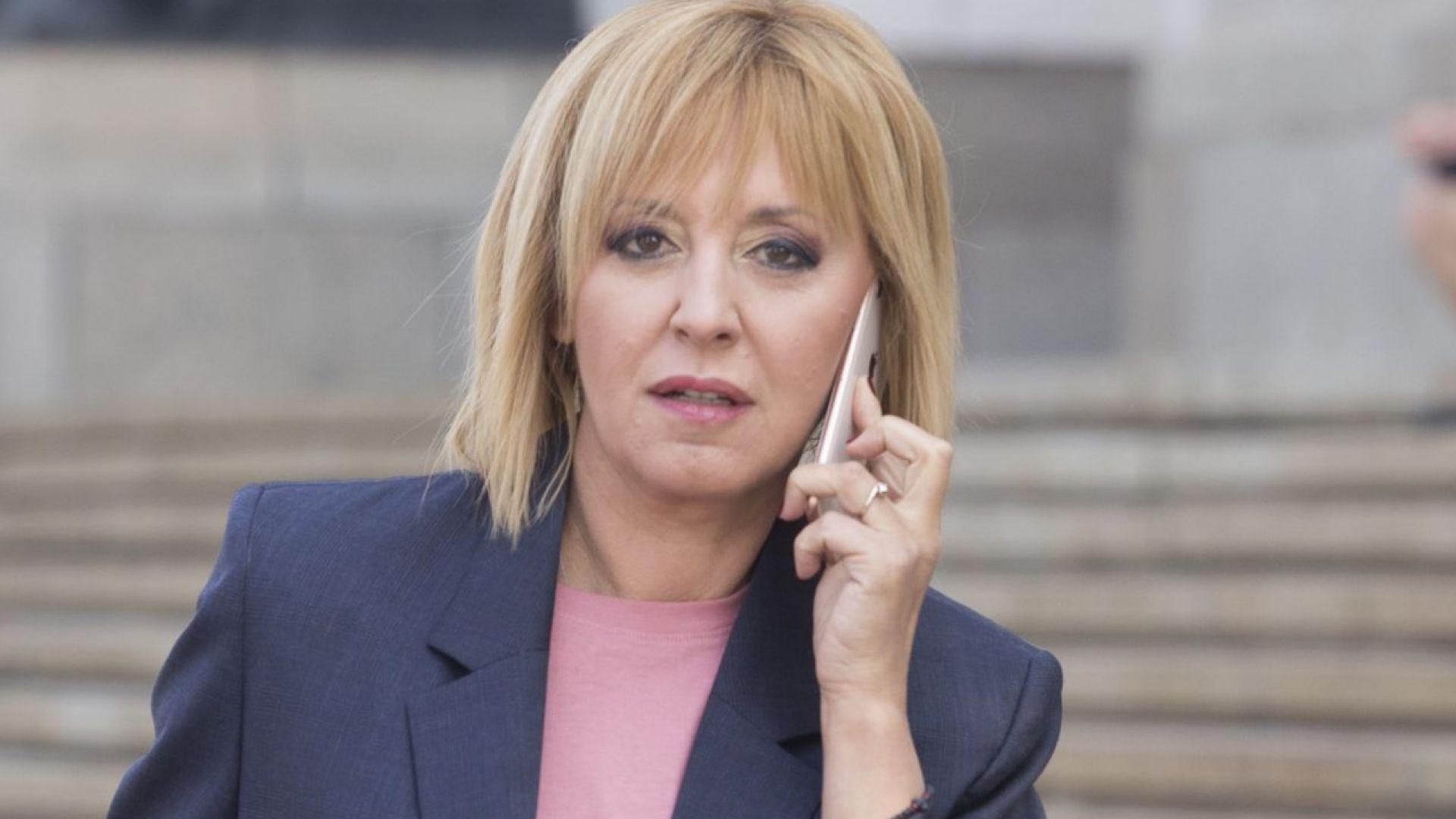 Мая Манолова няма да прави партия, а платформа за граждански натиск