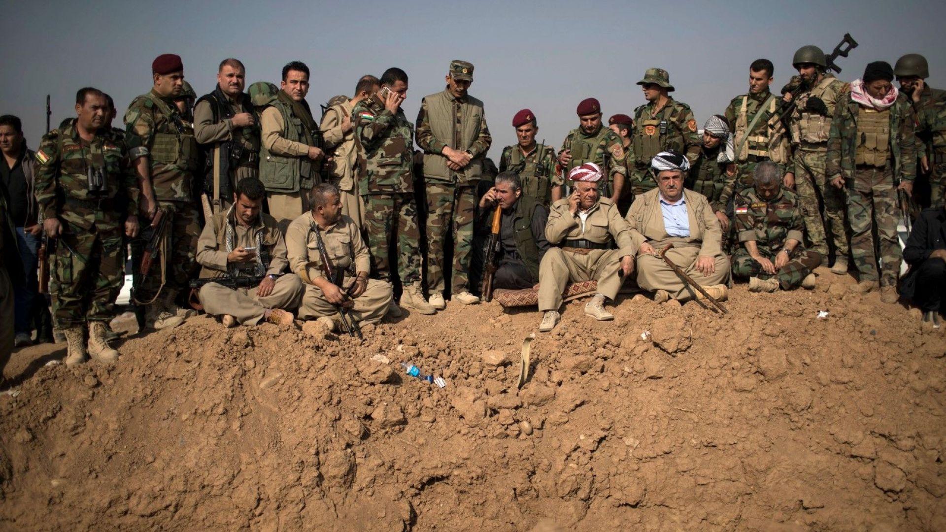 Изтеглянето на американските военни от някои зони в Сирия открива