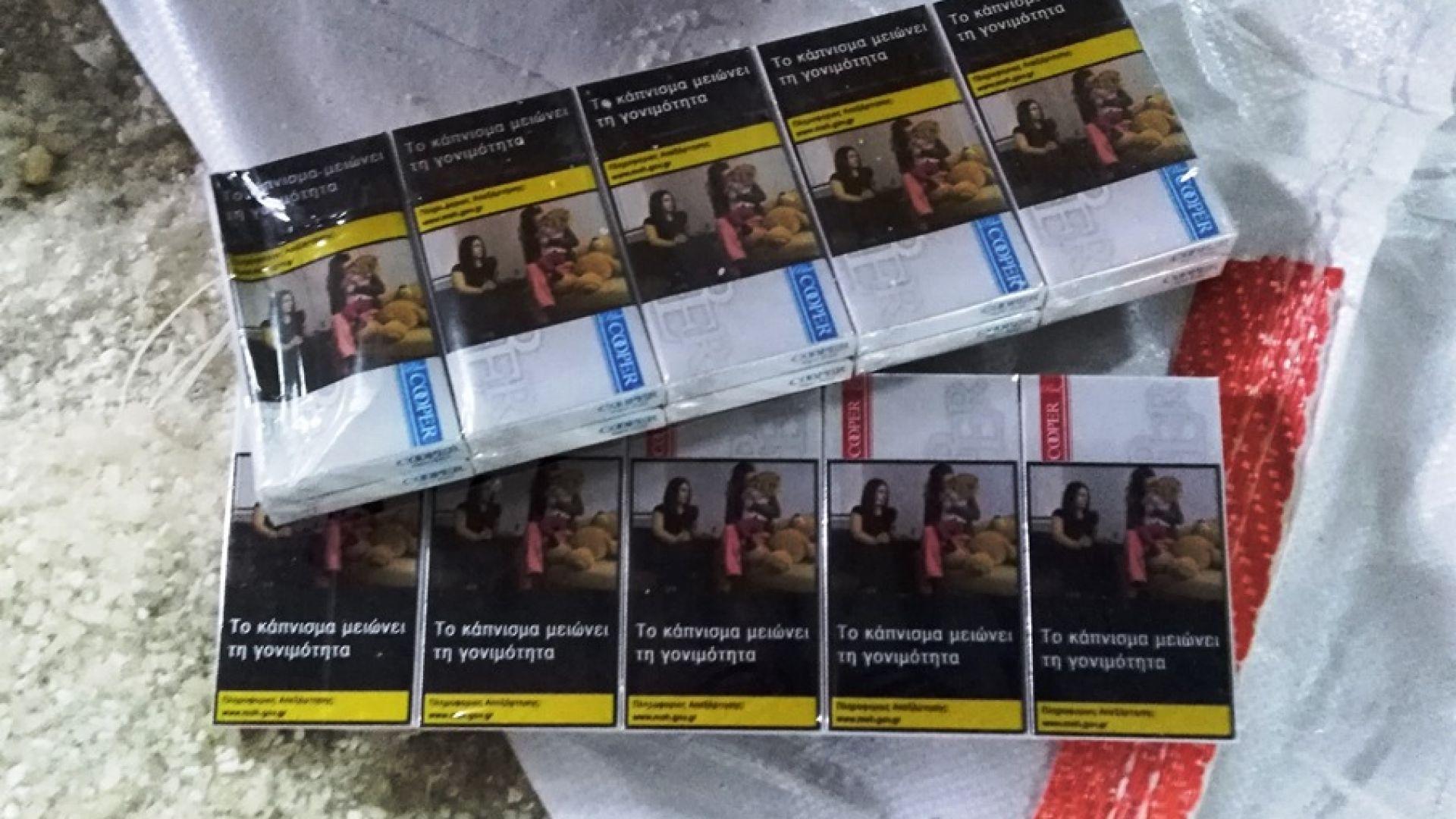 Задържаха нелегални цигари за над 3 милиона лева в София