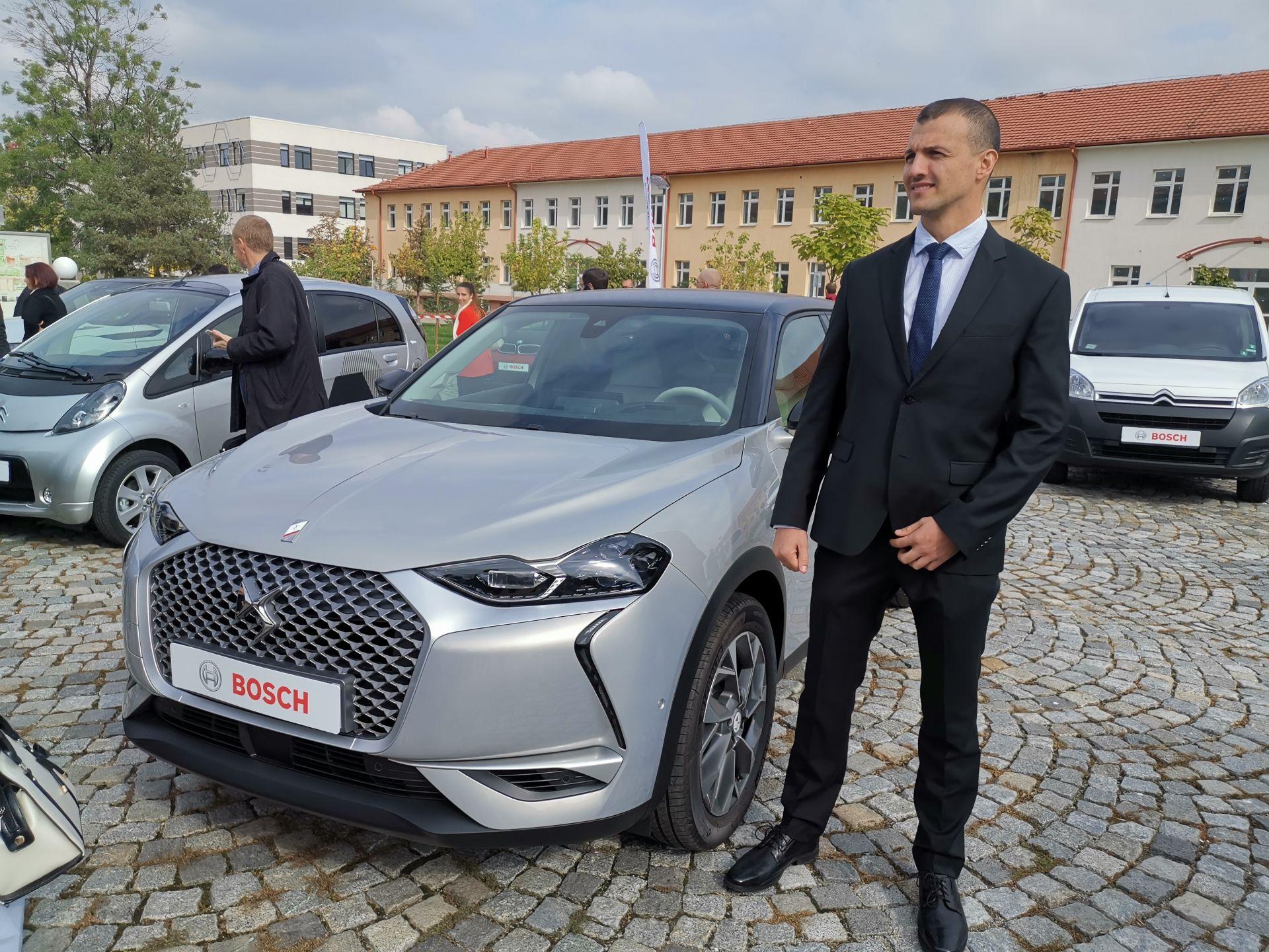 Bosch са водещ доставчик на системите за автономно шофиране