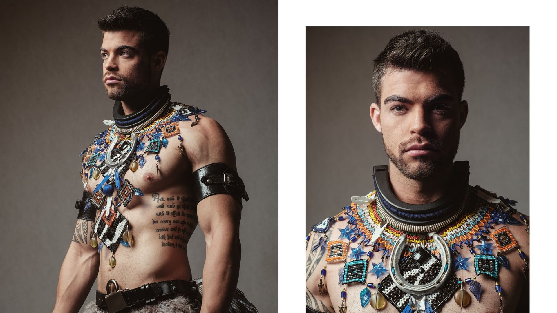 38 мъже от 38 страни позират с народните си носии
