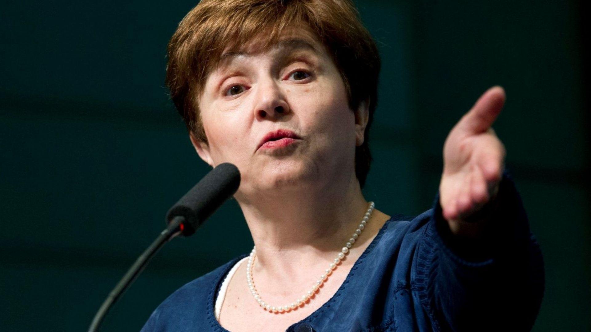 Кристалина Георгиева приветства данъчната реформа на Тръмп, стимулираща растежа