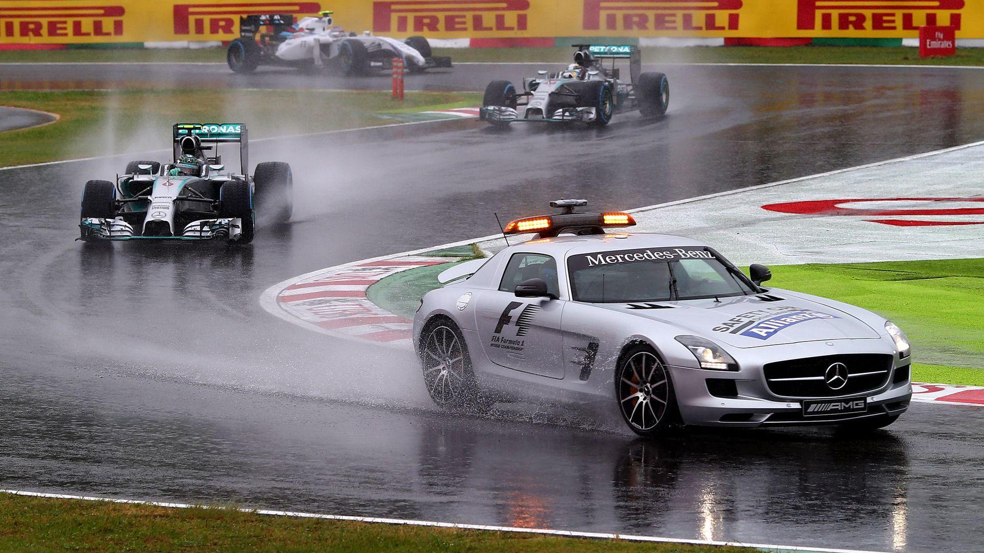 Тайфун застрашава старта от Формула 1 в Япония