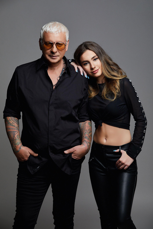 Стенли и дъщеря му Никол