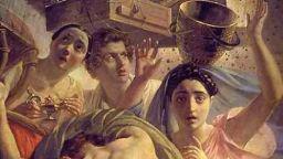 Защо Карл Брюлов e нарисувал и себе си сред жертвите на изпепеления Помпей?