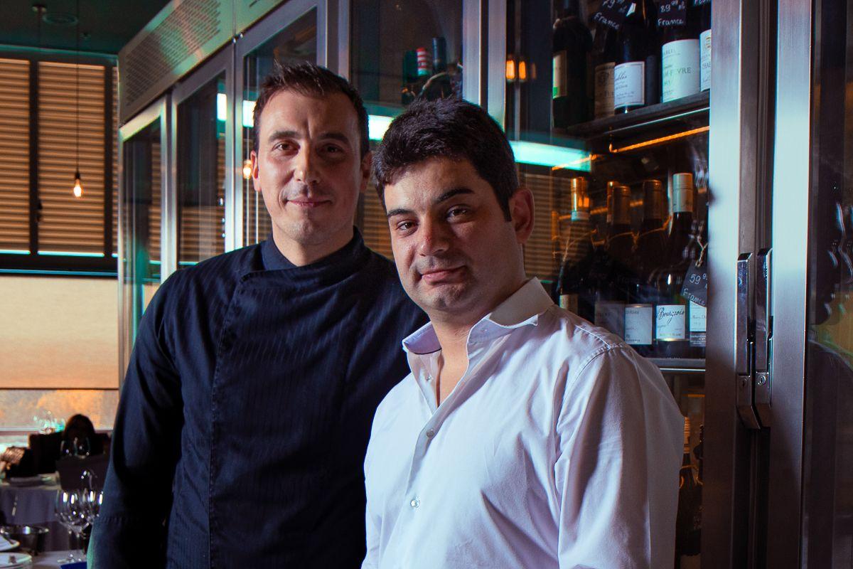 Собственикът и управител на българския ресторант Porto Maltese - Ангел Вандов, се гордее, че Милош готви в неговата кухня