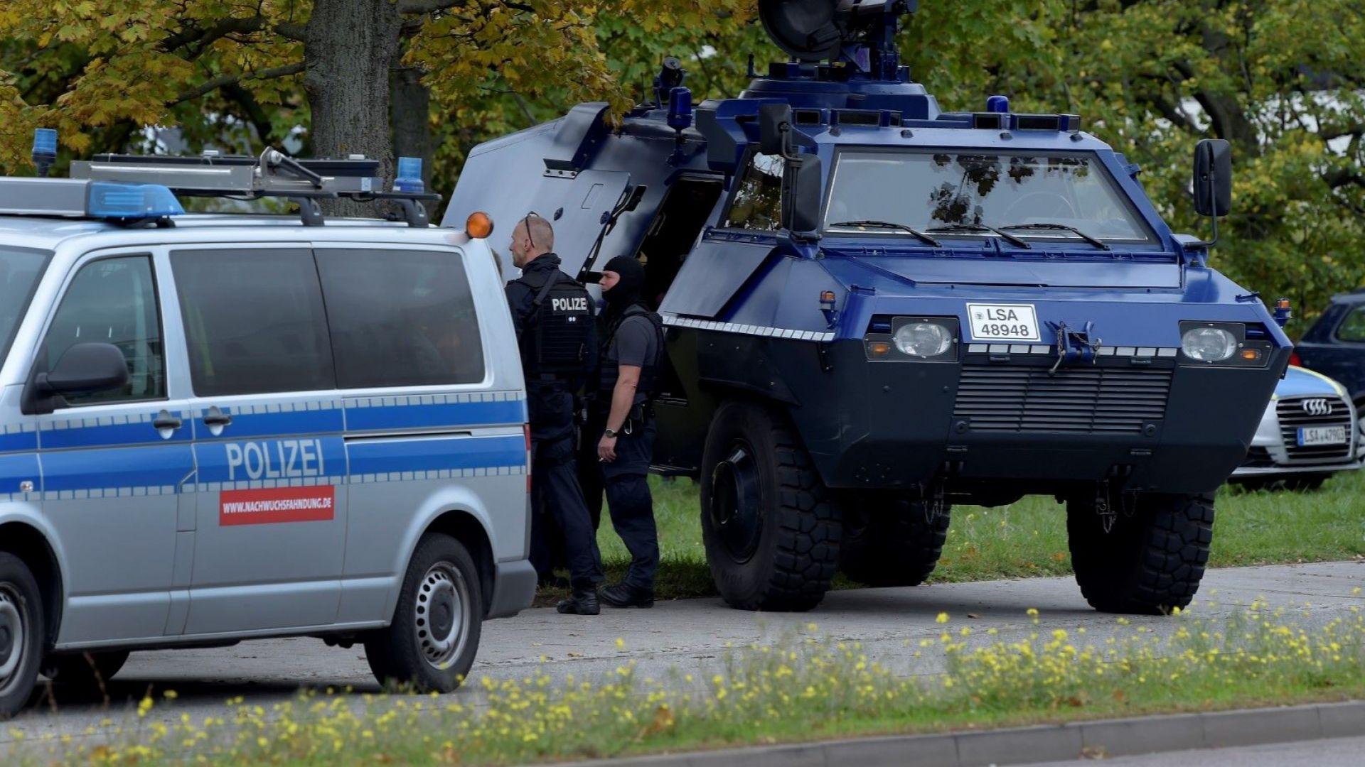 Случаят с двамата убити в Хале вероятно е тероризъм