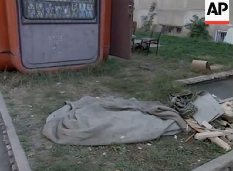 На това място е убит Валентин Крумов