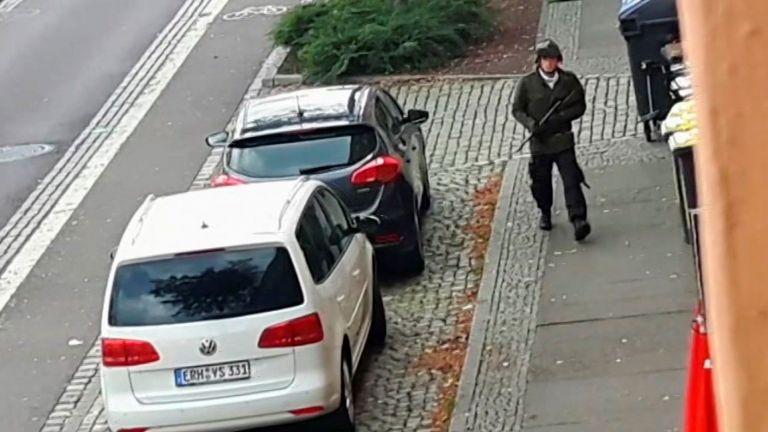 Крайнодесният екстремист Щефан Балиет, извършител на атаката срещу синагога в