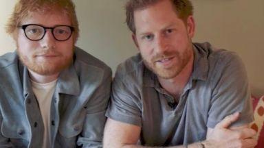 Принц Хари и Ед Шийрън обединяват сили в името на менталното здраве