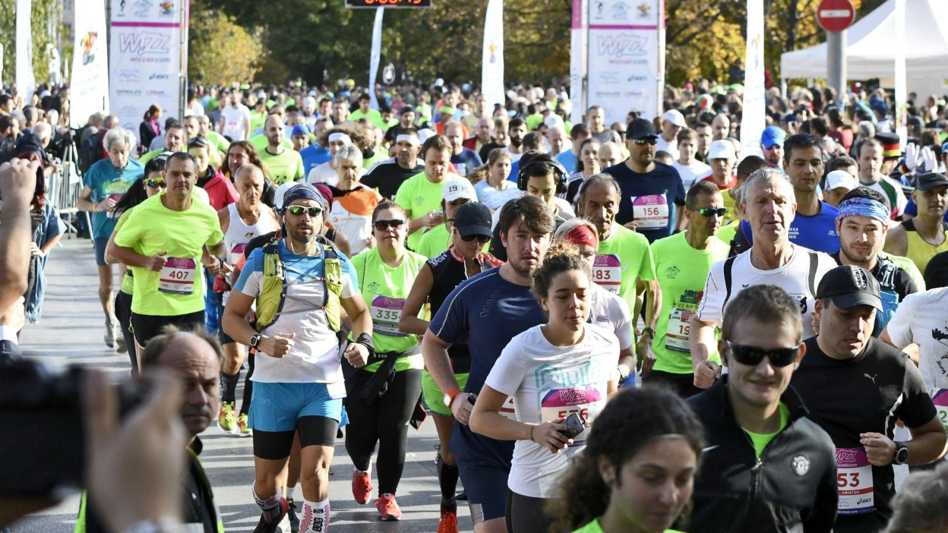 Софийският маратон спира движението в центъра