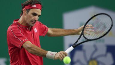 """Федерер няма да играе още месец, но """"Ролан Гарос"""" е в плановете му"""