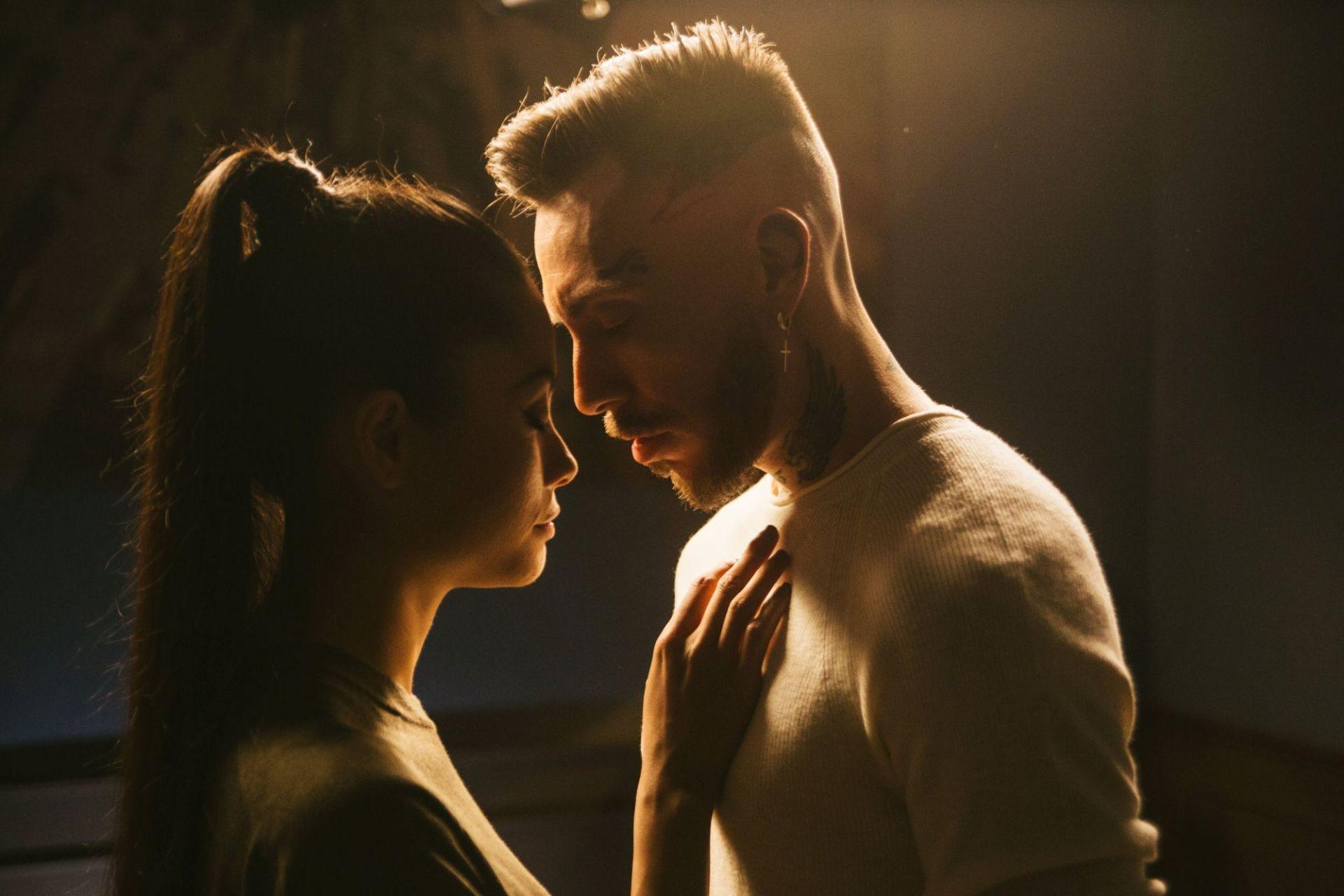 Pavell и приятелката му Кристина