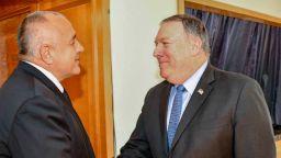 Борисов обсъди с Помпейо F-16, газовите магистрали, АЕЦ Белене и контрабандата