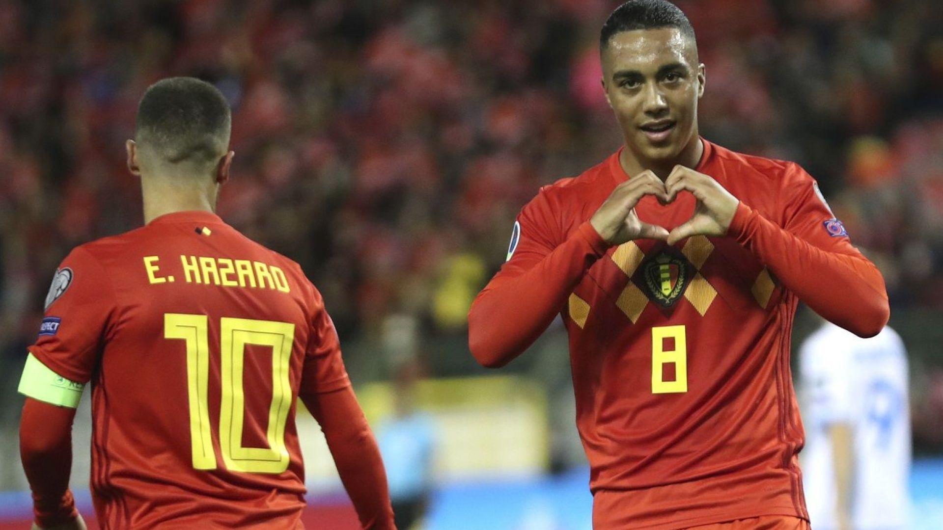 Белгия е първият тим с билет за Евро 2020